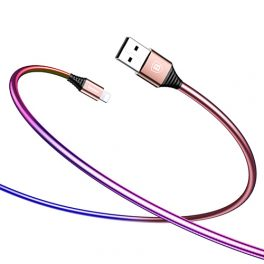 Baseus-Plating-USB-Cable-rose