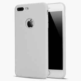 Ultratunn-TPU-skal-extra-skydd-iphone-7-8-snow-white