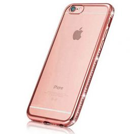 Luxury-Diamond-Frame-Transparent-TPU-skal-Iphone-roseguld7