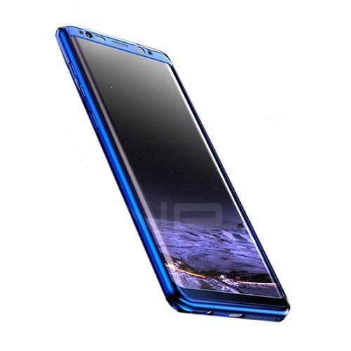 Roybens Glossy Mirror Skal för Samsung Galaxy S8 – Blå