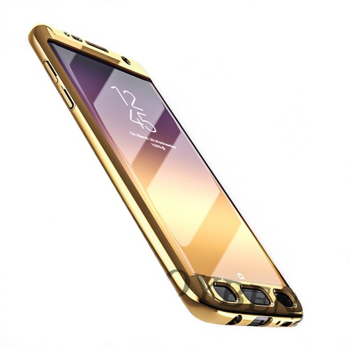 Roybens Glossy Mirror Skal för Samsung Galaxy S7 – Guld