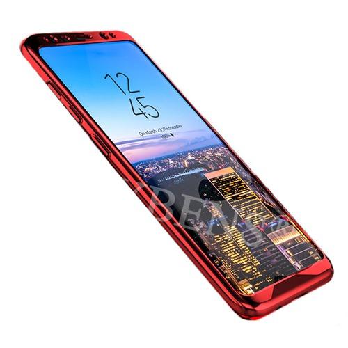 Roybens Glossy Mirror Skal för Samsung Galaxy S8 – Röd