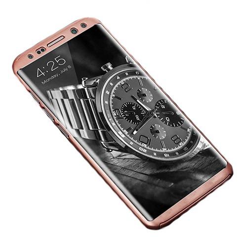Roybens Glossy Mirror Skal för Samsung Galaxy S8+ – Roseguld