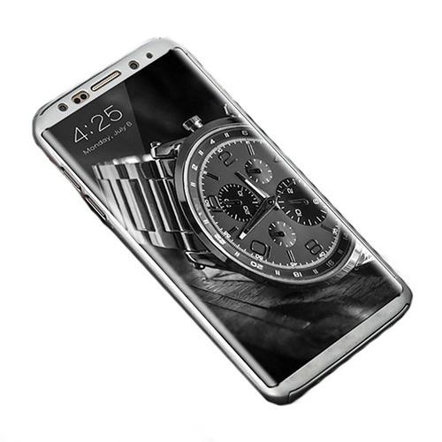 Roybens Glossy Mirror Skal för Samsung Galaxy S8 – Silver