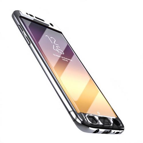Roybens Glossy Mirror Skal för Samsung Galaxy S7 – Silver