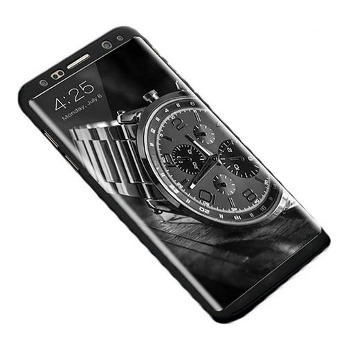 Roybens Glossy Mirror Skal för Samsung Galaxy S8+ – Svart