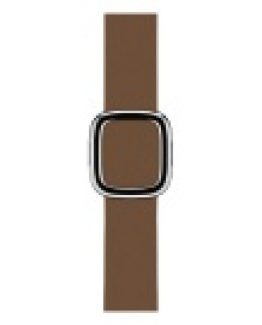 Apple Watch Modern Buckle 38 mm Small - Brun Läder