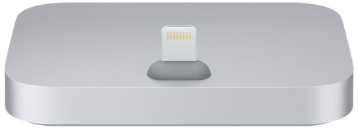 Apple iPhone Lightning Dock Metallic – Grå