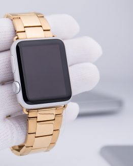 Smondor Rostfritt Stål Watchband till Apple Watch 42mm - Guld