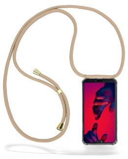 CoveredGear Necklace Case Huawei P20 Pro - Beige Cord