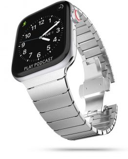 Tech-Protect Linkband Apple Watch 2/3/4/5/6 / Se (42mm /44mm) - Silver