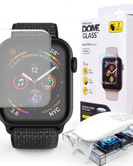 Whitestone Härdat Glas Dome Apple Watch 4/5