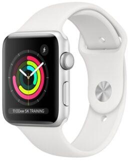 Apple Watch Series 3 GPS, 42mm Silver/Vit
