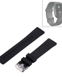 Armband Fitbit Versa Silikon Svart