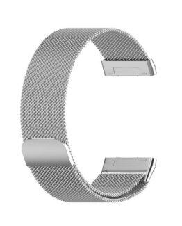 Armband Meshlänk Fitbit Versa 3 / Sense Silver - Large