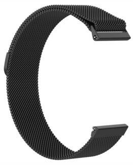 Armband Meshlänk Fitbit Versa L Svart
