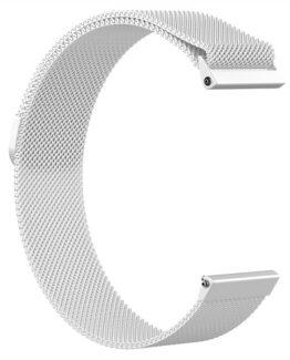 Armband Meshlänk Fitbit Versa Silver