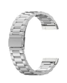 Armband i metall Fitbit Versa 3 / Sense Silver