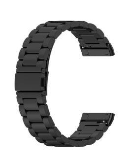 Armband i metall Fitbit Versa 3 / Sense Svart