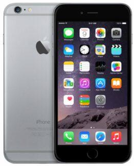 Begagnad iPhone 6 64GB Svart Olåst i bra skick Klass B