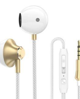 Earphone Stereo Bass Handsfree iPhone / Samsung / Huawei / Sony