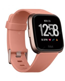 Global Version Fitbit Versa Smart Watch Water Resistant 15 Plus Exercise Modes