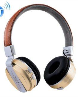 Guld Retro Bluetooth Headset för Mobiltelefon