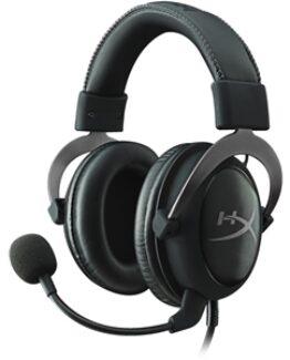 HyperX Cloud II Gaming Headset,svart/grå