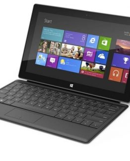 Microsoft Surface Pro 2 128GB med tangentbord (beg) (Klass C)