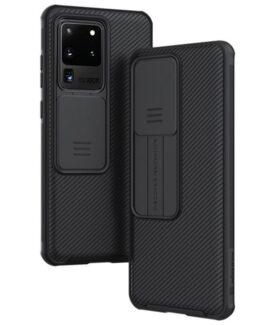 NILLKIN skal med kameraskydd Samsung Galaxy S20 Ultra, Svart
