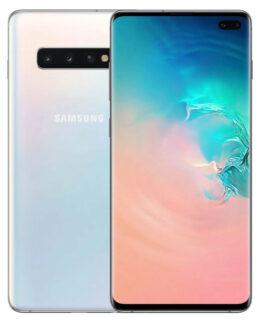 Samsung Galaxy S10 Plus 128GB Dual SIM White (Beg) (Klass C)