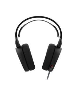 SteelSeries Arctis 5 headset - 2019 Edition - full storlek - kablar - svart