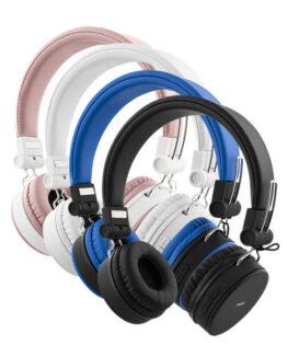 Streetz Trådlös Bluetooth-hörlur med mikrofon (Blå)