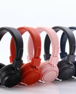 Svart Trådlöst headset