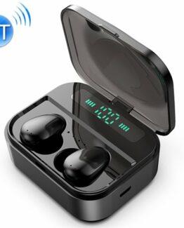 Trådlösa Bluetooth Hörlurar med Laddarbox