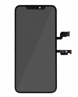 iPhone XS Max OLED Skärm Display Glas - Svart