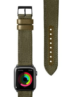 Apple Watch 42/44mm Armband Technical 2.0 Olive Green